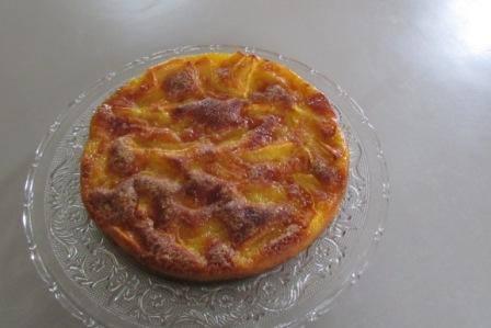 Gâteau aux pommes renversé 1